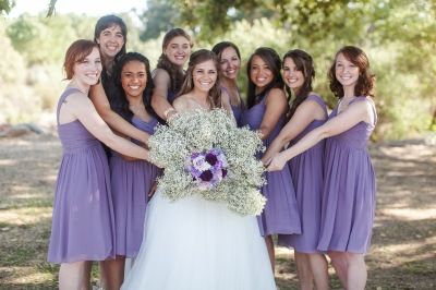 bridesmaids flowers